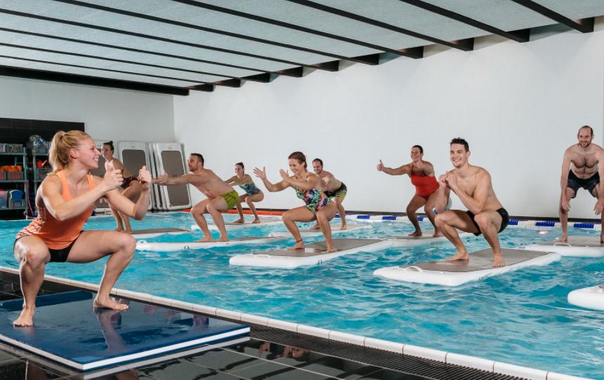 Float Fit® HIIT - Fitness auf dem Wasser in Köln