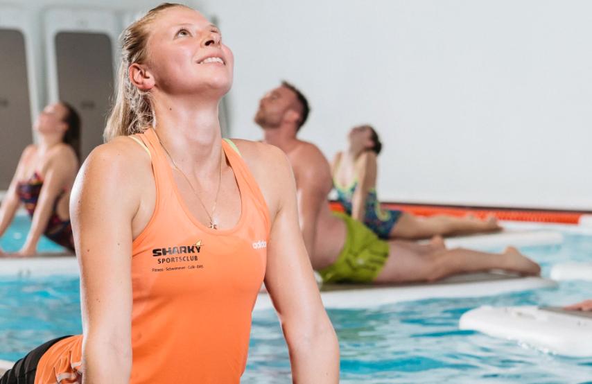 Float Fit® Balance - Fitness auf dem Wasser in Köln