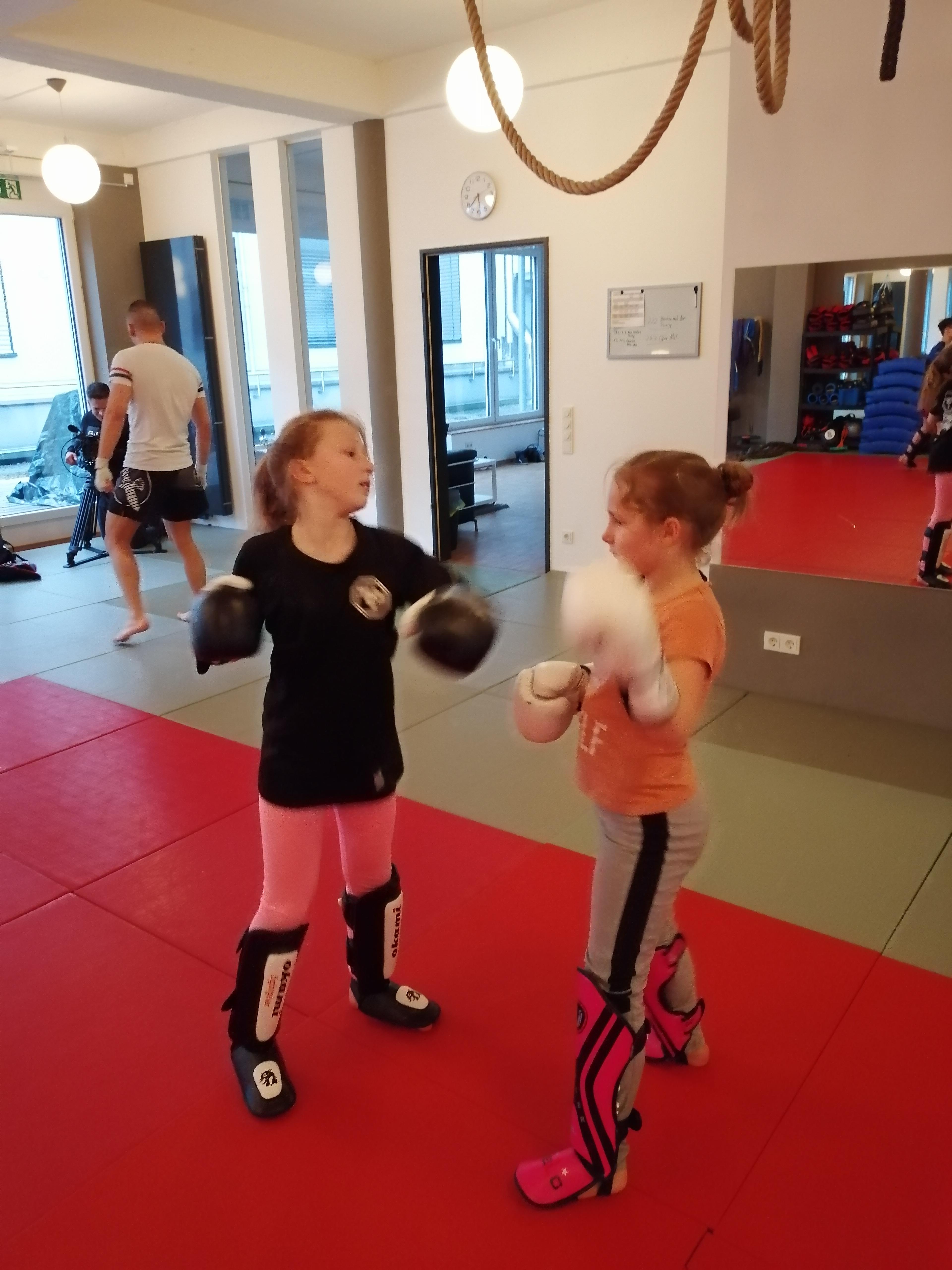 Kickboxen für Kinder/Jugendliche