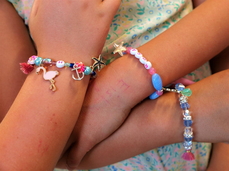 Kindergeburtstag in Düsseldorf - Armband Kurs